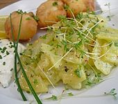 Kartoffelsalat mit Kresse