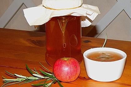 Apfelgelee mit Rosmarin 4