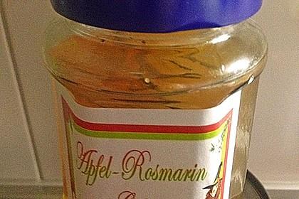 Apfelgelee mit Rosmarin 12