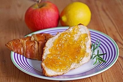 Apfelgelee mit Rosmarin 1