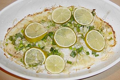 Chili - Fisch mit Koriander aus dem Ofen 1