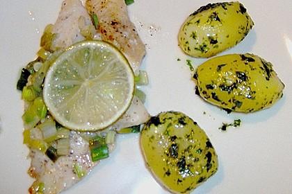 Chili - Fisch mit Koriander aus dem Ofen 2