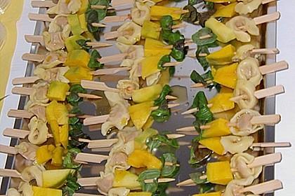 Fruchtige Tortellini - Spieße 7