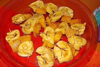 Fruchtige Tortellini - Spieße 8