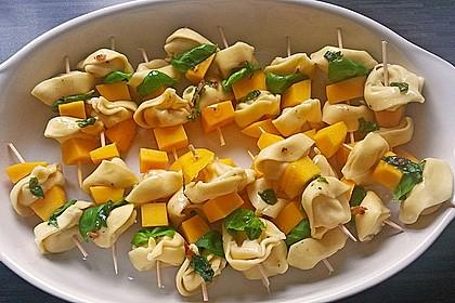 Fruchtige Tortellini - Spieße 0
