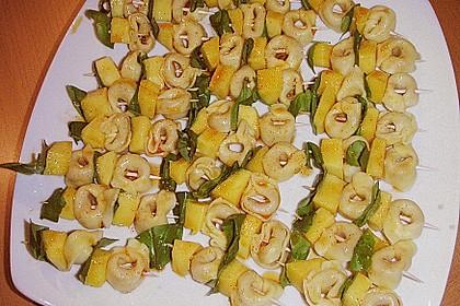 Fruchtige Tortellini - Spieße 4