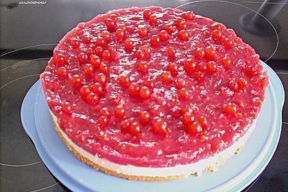 Johannisbeer - Grütze - Schmand - Torte 2