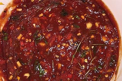 Chili - Tomaten - Honig - Grillsauce
