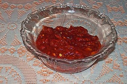 Chili - Tomaten - Honig - Grillsauce 4