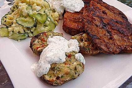 Kartoffel - Gurken - Salat
