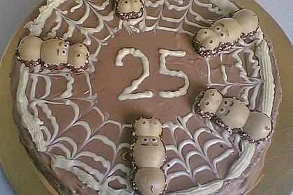 Schokotorte mit Giotto - Puddingcreme 2
