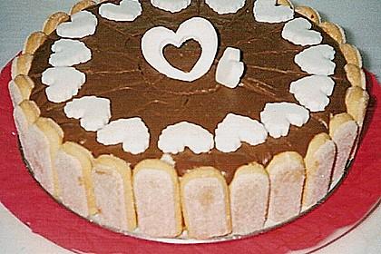 Schokotorte mit Giotto - Puddingcreme 5