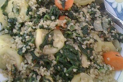 Bulgur - Gemüsepfanne 15