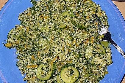Bulgur - Gemüsepfanne 13