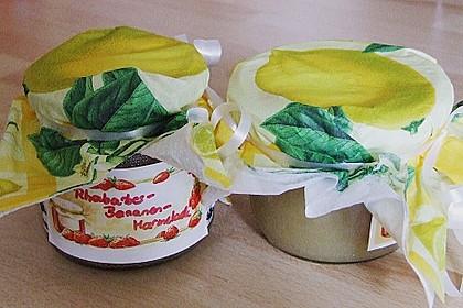 Rhabarber - Bananen Marmelade 14