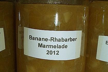 Rhabarber - Bananen Marmelade 21