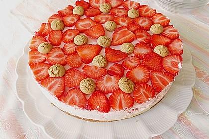 Erdbeer - Amarettini - Torte