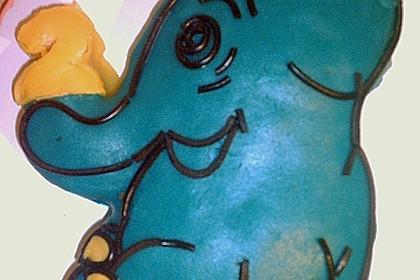 Lettas kleine blaue Elefant  - Motivtorte 143