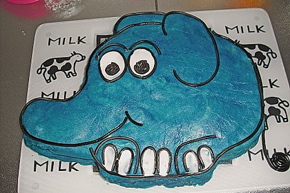 Lettas kleine blaue Elefant  - Motivtorte 39