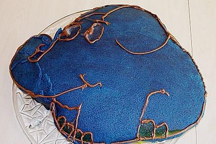 Lettas kleine blaue Elefant  - Motivtorte 167
