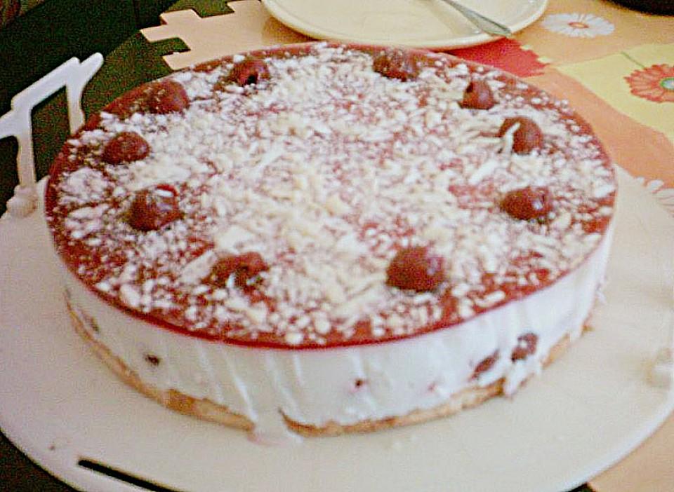 Joghurt amarena torte