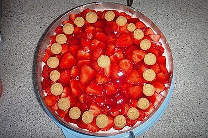 Amarettini - Erdbeerkuchen