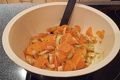 Fenchel - Karotten - Salat 1