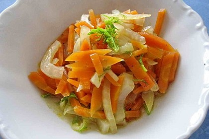 Fenchel - Karotten - Salat