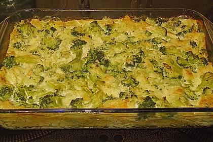 Lachs - Brokkoli - Lasagne 4