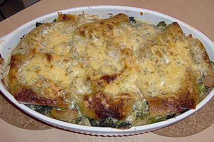 Lachs - Brokkoli - Lasagne 9