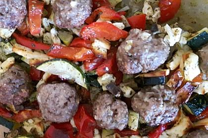 Backofengemüse auf Schafskäse 40