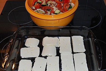 Backofengemüse auf Schafskäse 106