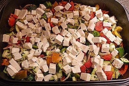 Backofengemüse auf Schafskäse 52