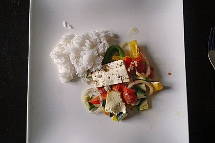 Backofengemüse auf Schafskäse 54