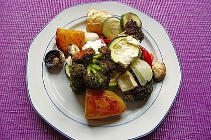 Backofengemüse auf Schafskäse 31