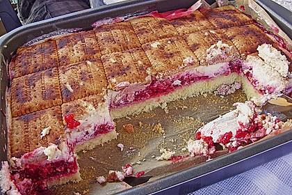 Keks-Kuchen vom Blech 90