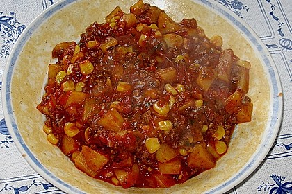Bolognese - Pfanne mit Kartoffeln 2