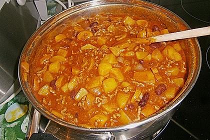 Bolognese - Pfanne mit Kartoffeln