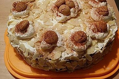 Apfel - Amaretto - Torte