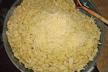 Schwäbische Käsespätzle 5