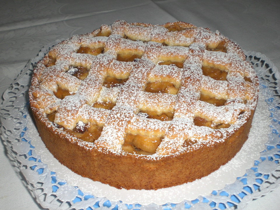 Rhabarber apfel kuchen murbeteig