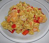 Scampi - Reis - Pfanne (Bild)