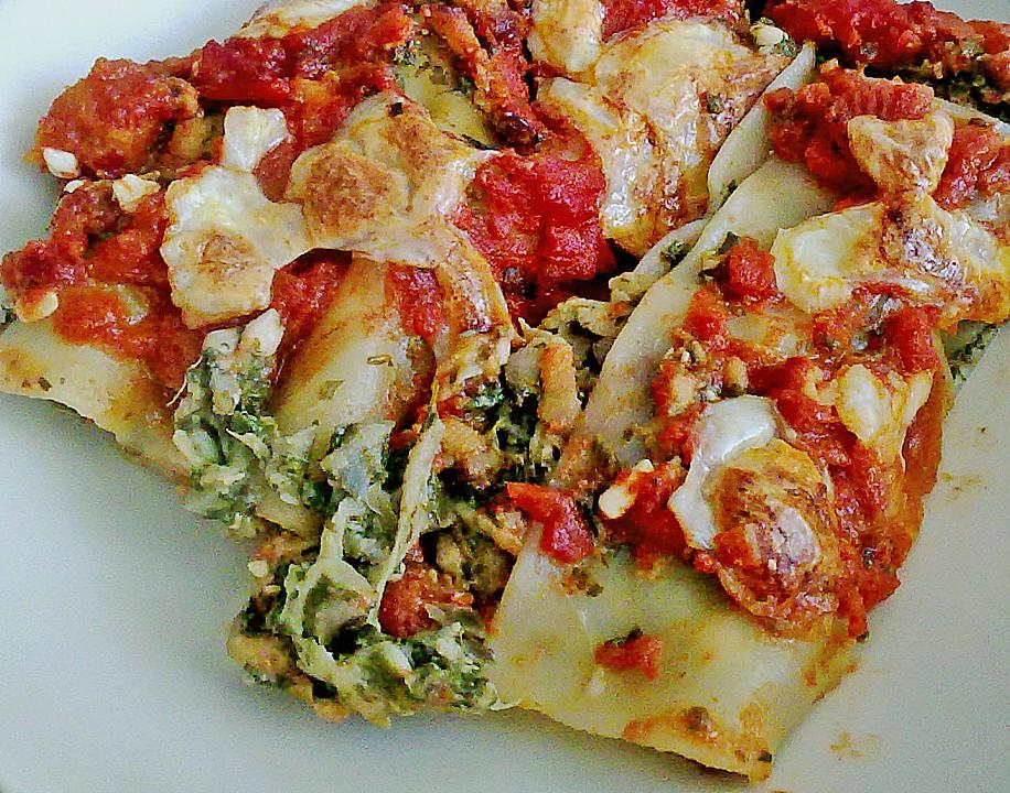 zucchini spinat lasagne rezept mit bild von. Black Bedroom Furniture Sets. Home Design Ideas