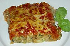 Zucchini - Spinat - Lasagne