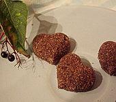 Zuckerherzen für Cappuccino, Kaffee oder Tee (Bild)