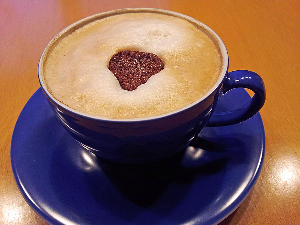 zuckerherzen f r cappuccino kaffee oder tee von finefee67. Black Bedroom Furniture Sets. Home Design Ideas