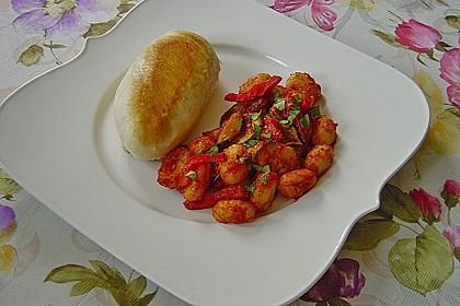 Gnocchi-Salat mit Zucchini und Paprika 20