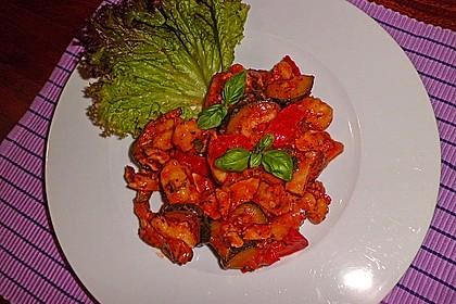 Gnocchi-Salat mit Zucchini und Paprika 58