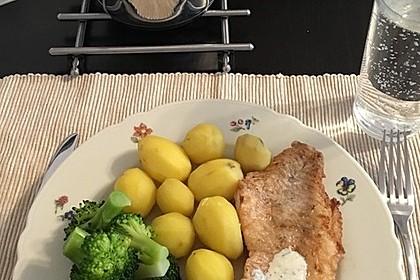 Pangasius mit Zitronen - Dill - Sauce