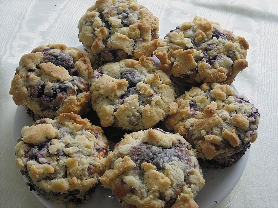 blaubeer muffins mit streuseln von ela back chefkoch de